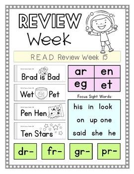 Kindergarten READ:Review 11-14