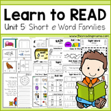 Learn to Read - Short e Unit 5
