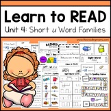 Learn to Read - Short u Unit 4