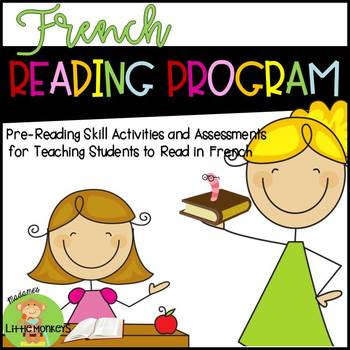 Learn to Read in French: A Compilation of Pre-Reading Skill Activities
