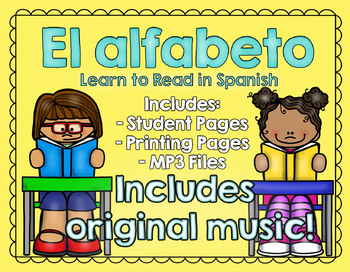 Learn to Read in Spanish! EL ALFABETO - Learn the alphabet with music!