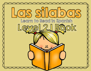 Learn to Read in Spanish! Las silabas - Syllables Level 2.1