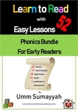 Learn to Read with 54 Easy Lessons - Phonics Bundle for Ea