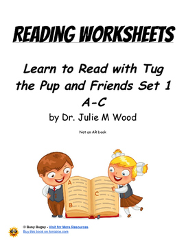 Learn to Read with Tug the Pup and Friends Set 1  Reading Worksheets