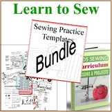 Learn to Sew Bundle Set- Sewing Curriculum, Lessons, Sewin