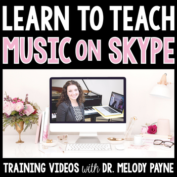 Learn to Teach Music Lessons on Skype {Training Videos for Music Teachers}