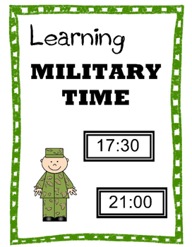 Learn to Tell Military Time