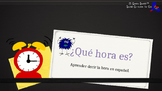 Learn to Tell Time in Spanish! - ¿Qué hora es? (Presentation with Q&A)