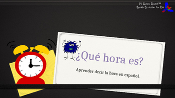 Learn to Tell Time in Spanish! - ¿Qué hora es?