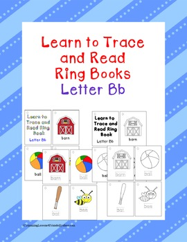 Learn to Trace and Read Ring Book Bb