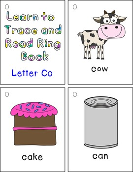 Learn to Trace and Read Ring Book Cc