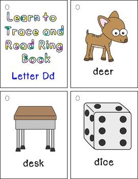 Learn to Trace and Read Ring Book Dd