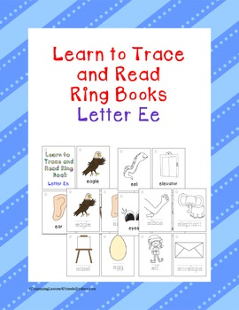 Learn to Trace and Read Ring Book Ee