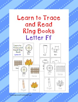 Learn to Trace and Read Ring Book Ff