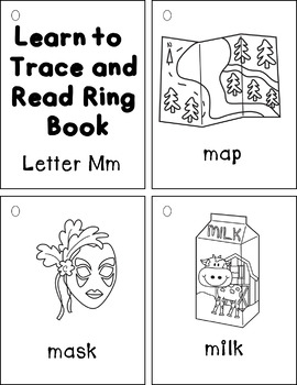 Learn to Trace and Read Ring Book Mm