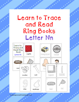 Learn to Trace and Read Ring Book Nn