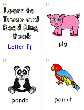 Learn to Trace and Read Ring Book Pp
