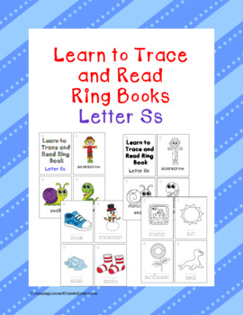 Learn to Trace and Read Ring Book Ss