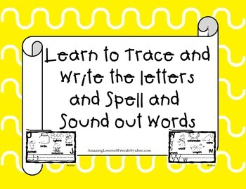 Learn to Trace and Spell Words