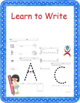Alphabet Trace - Learn to Write