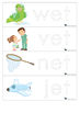 Learn to Write CVC Words CVC Tracing Cards