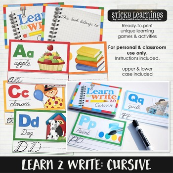 Learn to Write: Cursive
