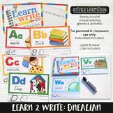 Learn to Write: Dnealian
