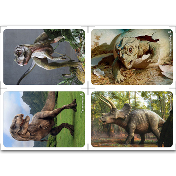 Mother & Baby Animals - Matching Cards. Dinosaurs #03