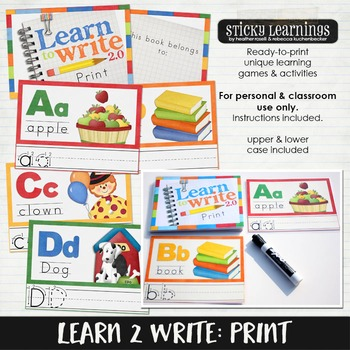 Learn to Write: Print