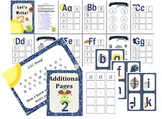 Learn to Write - Space! (Lowercase Letters)