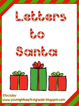 Learn to Write a Santa Letter (mini-packet)