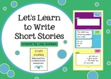 Learn to Write a Short Story Smart Board Lesson for Beginning Writers