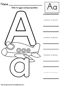 Learn to Write and Identify Letters (Early Learning)