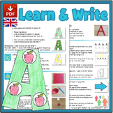 Learn & Write the Alphabet: 26 Curriculum Lessons - UK Ver