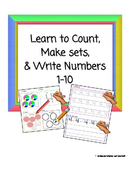 Learn to count, make sets, and write numbers