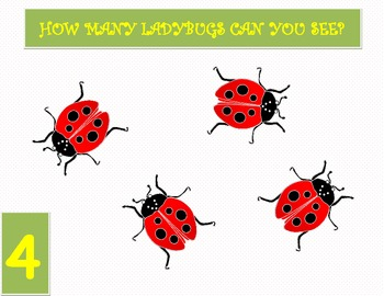 Learn to count with Ladybugs - Up to 20