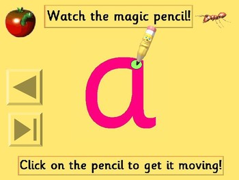 Learn to hand write - interactive PowerPoint