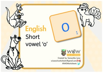 Learn to read: Short vowel 'o'