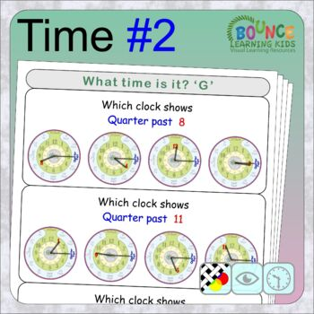 Learn to tell the time 2 (17 Time sheets)