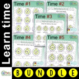 Learn to tell the time bundle (88 Time sheets)