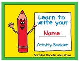 Learn to write your name activity booklet