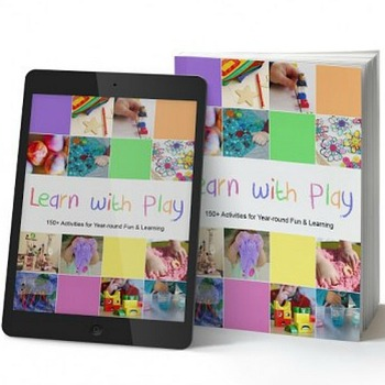Learn with Play eBook - 150+ HANDS-ON KIDS ACTIVITIES