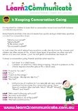 Learn2Communicate Talking Tips