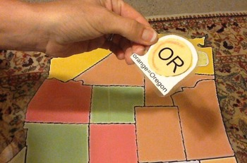 Learn50Fast Print Your Own Map and Puzzle Pieces