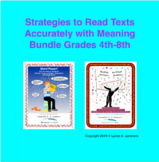 Learner Centered In Context Reading and Vocabulary Strategies 4th-8th Bundle
