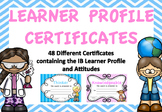 Learner Profile Certificates