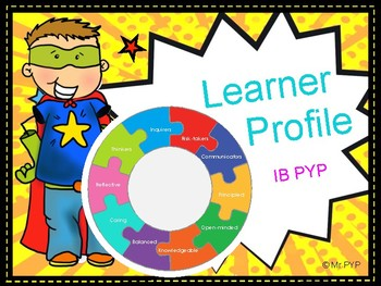 IB PYP Learner Profile Display