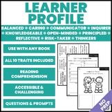 Learner Profile Graphic Organizers