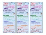 Learner Profile IB PYP Book Mark