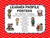 Learner Profile Posters (Chevron)